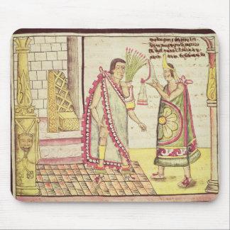 La coronación de Montezuma II Tapete De Ratón