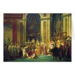 La coronación de Napoleon de Jacques Louis David Felicitacion