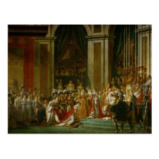 La coronación de Napoleon Postales