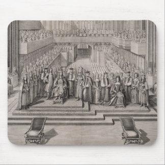 La coronación de rey James II (1633-1701) y hola Tapete De Ratones