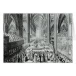 La coronación de rey James II c.1685 Felicitaciones