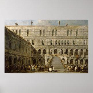 La coronación del dux de Venecia Impresiones