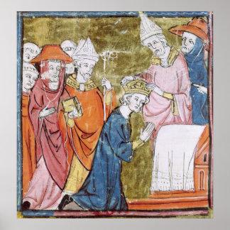 La coronación del emperador Carlomagno Poster
