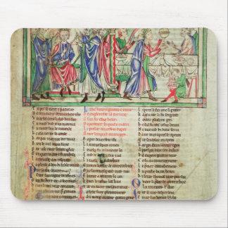 La coronación del hijo de rey Henry II Tapetes De Ratón