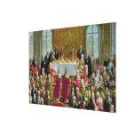 La coronación impresiones en lienzo estiradas