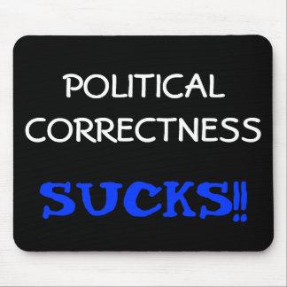 La corrección política chupa alfombrillas de ratón