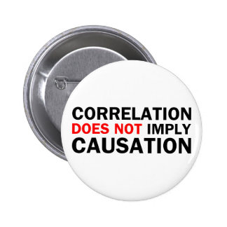 La correlación no implica la causalidad pin