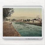 La corriente de Barada, Damasco, Tierra Santa, (es Alfombrillas De Ratones
