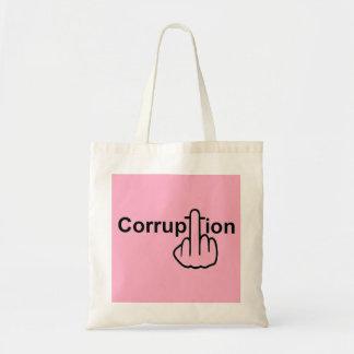 La corrupción del bolso chupa bolsas