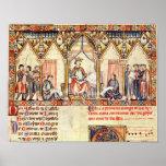 La corte de Alfonso X 'el Wise Poster
