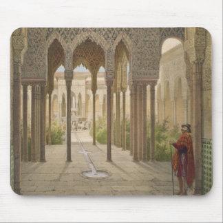 La corte de los leones, Alhambra, Granada, 185 Alfombrilla De Raton