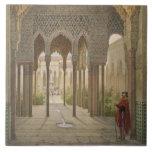 La corte de los leones, Alhambra, Granada, 185 Teja Cerámica