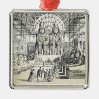 La corte de Nubian en el palacio cristalino en Syd Adorno
