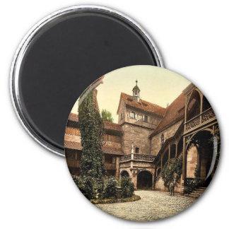 La corte del castillo, Nuremberg, Baviera, Alemani Imán De Frigorífico