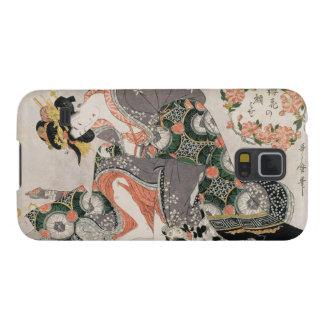 La cortesana con el geisha de Kitagawa Utamaro del Funda Para Galaxy S5