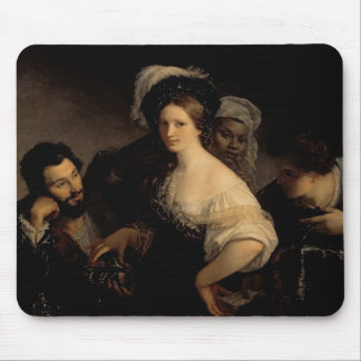 La cortesana joven, 1821 mouse pad