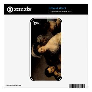 La cortesana joven, 1821 skins para eliPhone 4
