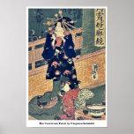 La cortesana Taisei por Utagawa, Sadahide Impresiones