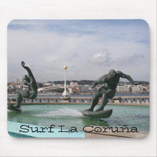 La Coruña España de la resaca Alfombrilla De Raton