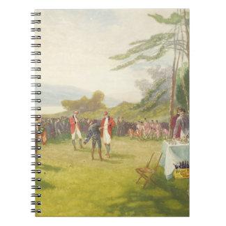 La cosa del club, publicada por Boupil y el Co. Libro De Apuntes