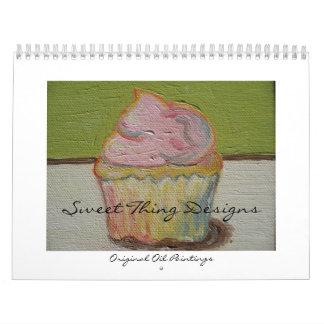 La cosa dulce diseña el calendario