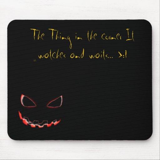 La cosa en el mousepad… ver.2.0 alfombrilla de ratón