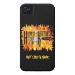 La cosa más caliente en la cocina iPhone 4 Case-Mate fundas