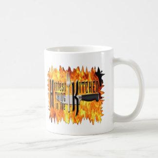 La cosa más caliente en la cocina taza de café