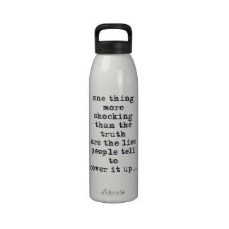 La cosa más impactante que verdad es cita de las m botella de agua reutilizable