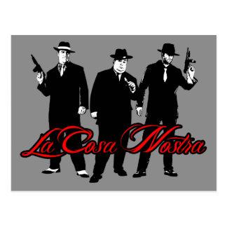La Cosa Nostra - Postcard Postales
