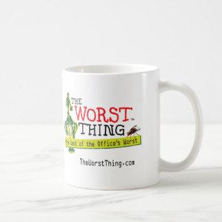 La cosa peor taza