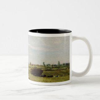 La cosecha, 1851 taza de dos tonos