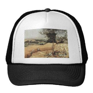 La cosecha de grano de Pieter Bruegel Gorros