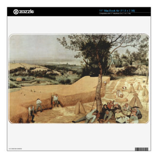 La cosecha de grano de Pieter Bruegel Skins Para 27,9cm MacBook Air