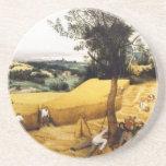La cosecha de maíz - 1565 posavasos diseño