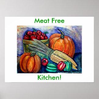 ¡La COSECHA del OTOÑO, carne libera, cocina! Póster