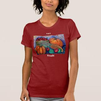 """¡La """"cosecha del otoño"""" come fresco! Camisas"""