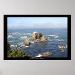 La costa #1 de California Impresiones