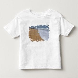 La costa auxiliar, ruta de esclavos encamina el t-shirts