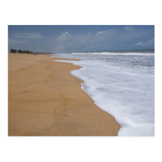 La costa auxiliar, ruta de esclavos encamina el postal