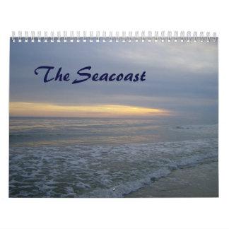 La costa calendario de pared