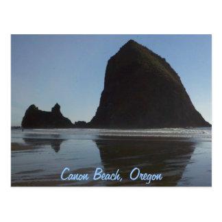 La costa Canon de Oregon vara Tarjetas Postales