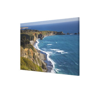 La costa costa grande de Sur en California, los E. Impresion En Lona