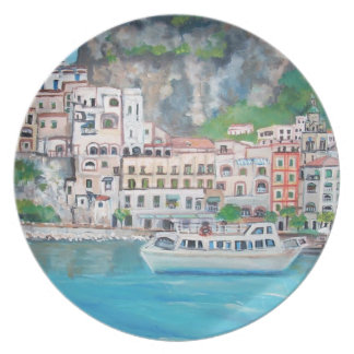 La costa de Amalfi - placas Platos
