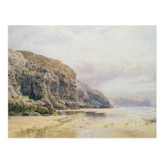 La costa de Cornualles Postal