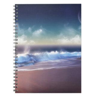 La costa de la naturaleza practica surf para arrib note book