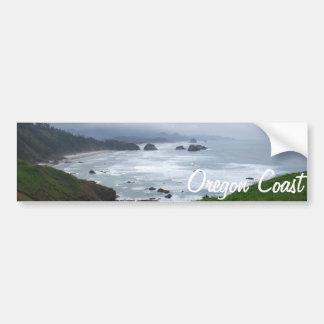 La costa de Oregon Etiqueta De Parachoque
