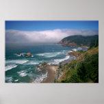 La costa de Oregon Impresiones