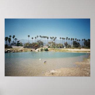 La costa de Santa Barbara Impresiones