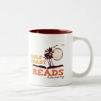La Costa del Golfo lee la taza